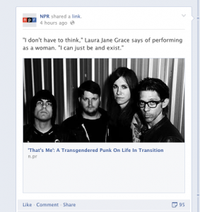 NPR performance fb